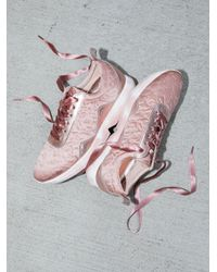 Free People - Pink Shoes Sneakers Stardust Sneaker - Lyst