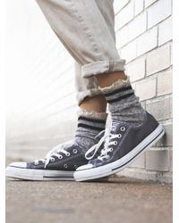 Free People | Gray Charlie Converse | Lyst
