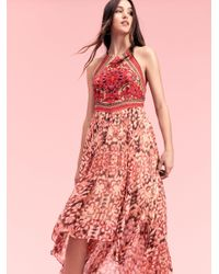 Free People | Pink Chiang Mai Maxi | Lyst