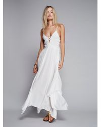 Free People   White Coconuts All Day Maxi   Lyst