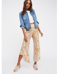 Free People | Multicolor Dancing Days Pull On Flare | Lyst