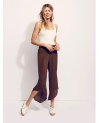 Free People | Brown Dancing Days Solid Flare | Lyst