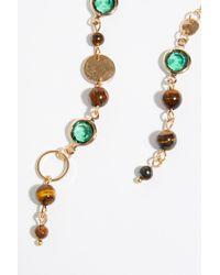 Free People - Brown Eclipse Asymmetrical Earrings - Lyst