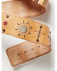 Free People   Natural Desert Sun Leather Belt   Lyst