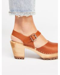 Free People - Multicolor Abby Clog - Lyst