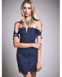 Free People | Blue Dahlia Dress | Lyst