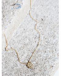 Free People | Metallic Diamonds Light Necklace | Lyst