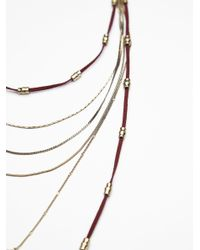 Free People - Multicolor Dylana Delicate Leather Bolo - Lyst