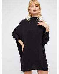 Free People - Black We The Free Terry Tee - Lyst