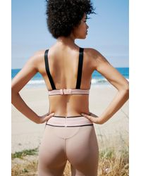 Free People - Brown Perfect Practice Sports Bra By Fp Movement - Lyst