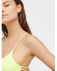 Free People - Multicolor Strappy Side Bra - Lyst