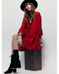Free People | Embroidered Austin Dress | Lyst