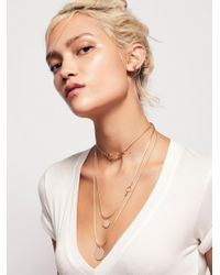 Free People - Metallic Emma Taylor Necklace - Lyst