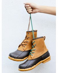 Free People - Blue Shoes Boots Weather Boots Fall Festival Duck Boot - Lyst