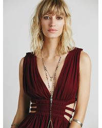 Free People | Purple Feel The Flava Fit And Flare | Lyst
