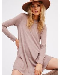Free People | Pink First Date Dress | Lyst