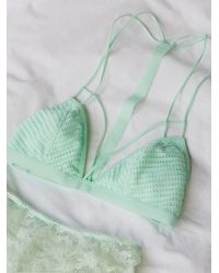 Free People | Blue Fish In The Sea Strappy Bra | Lyst