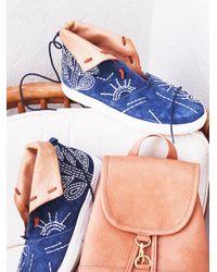 Free People | Multicolor Gansvoort Slip On Sneaker | Lyst