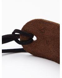 Free People - Brown Glastonbury Leather Choker - Lyst