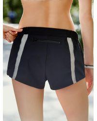 Free People - Black Hot Trot Layered Shorts Hot Trot Layering Tank - Lyst