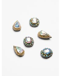 Free People | Multicolor Illusion Hair Jewels | Lyst