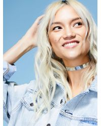 Free People - Multicolor Iridescent Choker - Lyst