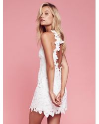 Free People | White Jessa Lace Dress | Lyst
