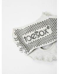 Free People | Multicolor Lace Namaste Yoga Sock | Lyst