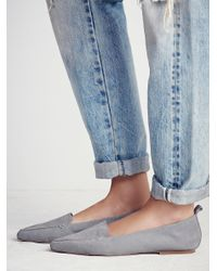 Free People - Gray Lakeside Loafer - Lyst