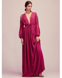 Free People | Pink Meadows Maxi | Lyst