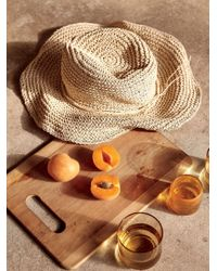 Free People | Natural Mellow Mood Packable Straw Hat | Lyst