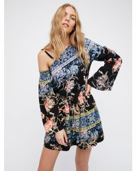 Free People | Multicolor Modern Nomad Mini Dress | Lyst