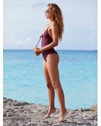 Free People | Multicolor Monahan One Piece Swimsuit | Lyst