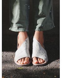 Free People | Gray Mont Blanc Sandal | Lyst