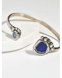 Free People | Multicolor Paradox Double Opal Cuff | Lyst