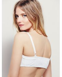 Free People - White Pescadero Bustier - Lyst