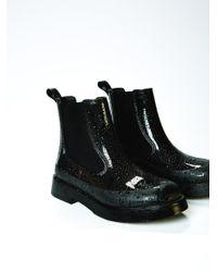 Free People | Black Puddle Jumping Rainboot | Lyst