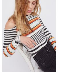 Free People | Multicolor Space Out Tee | Lyst