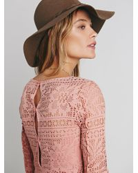 Free People - Multicolor Spring Date Dress - Lyst