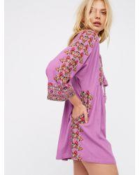 Free People | Multicolor Starlight Mini Dress | Lyst