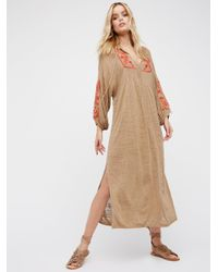 Free People | Multicolor Sweet Harvest Maxi Dress | Lyst
