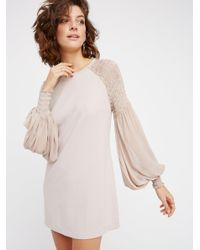 Free People | Multicolor The Perfect Dress | Lyst