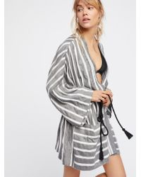 Free People - Multicolor Together Forever Kimono - Lyst