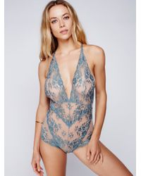 Free People | Blue Too Cute To Handle | Lyst
