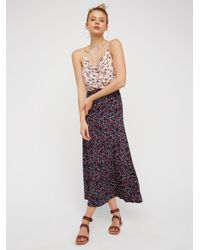 Free People | Multicolor True Love Cowl Maxi Dress | Lyst