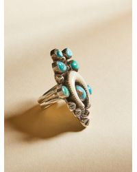 Free People - Multicolor Turquoise Horn Ring - Lyst