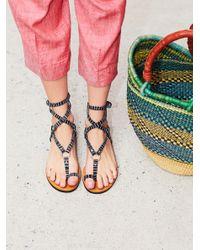 Free People   Multicolor Vegan Picnic Sandals   Lyst