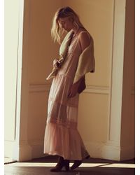 Free People | Pink Victoria Buttonfront Maxi | Lyst