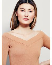 Free People - Natural We The Free January Tee - Lyst