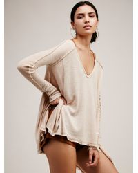 Free People   Natural We The Free Pacific Thermal   Lyst